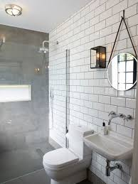 Micro Concrete Flooring Wraps Up The Shower Wall With An - Bathroom wraps