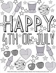 ⭐ free printable 4th of july coloring book. 4 Patriotic Free Printable 4th Of July Coloring Pages This Tiny Blue House