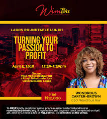 april lagos roundtable lunch