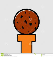 Free Cookies Sticker Design Cookies Sticker Design Stock Illustration Illustration Of