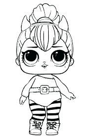 Coloring Page Girl Practical Girls Coloring Pages Printable Blank