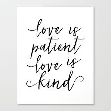 LOVE SIGN Love Is Patient Love Is KindLove ArtLove QuoteLove Custom Love Is Patient Love Is Kind Quote