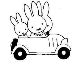 Kleurplaat Nijntje Dagritme Miffy Drawings En Love You Mom