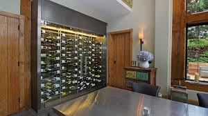 Glass Wine Room Design As Homeowners Focus On Wine Storage Rooms Replace Cellars