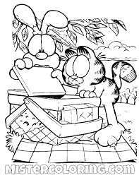 Pin By Jose Cijo Vazquez On Garfield Coloring Pages For Kids