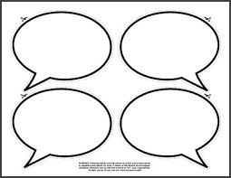 Word Bubble Templates Free Speech Bubble Printable Download Free Clip Art Free