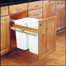 Kitchen trash cans: Built into cabinets or not?
