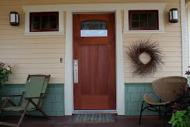 white craftsman front door. Craftsman Entry Door Of Mahogany White Front