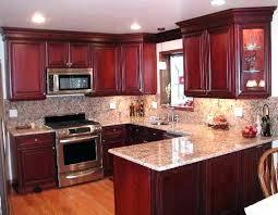 Image Neutral Cherry Epitelyumkazancclub Cherry Cabinet Kitchen Dark Cherry Kitchen Cabinets By Cabinetry