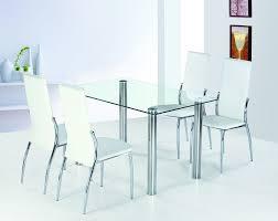 rectangle glass dining table — unique hardscape design  simple