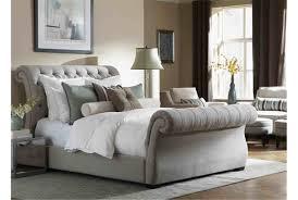upholstered sleigh bed diy homedesignlatestsite