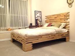 simple bed frame plans wood designs diy ana white platform free ideas desi