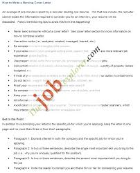 Sample Nursing Cover Letter Example Resume Letters Examples Nursing