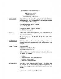 Legal Secretary Resume 22 Secretary Resume Examples 2016 Sample Cv