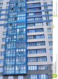 The New Modern Apartment Building Stock Image Image - Modern apartment building facade