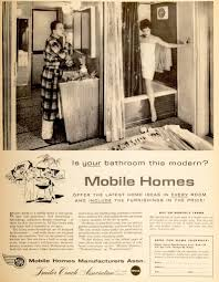 Retro Mobile Homes Home In A Can When Trailers Offered A Compact Version Of The