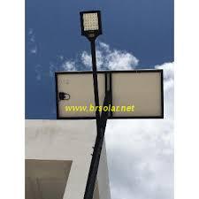 8m pole 60w led solar powered street light high quality