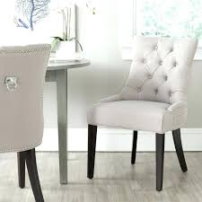 ring back dining chairs taupe ring chair set of 2 white linen ring back studded dining ring back dining chairs