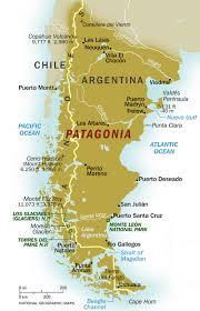argentina map patagonia region