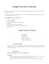 Resume Examples For Cooks Best of Fast Food Cover Letter Resume Sample For Restaurant Doc Cook