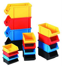 plastic storage bins. plastic storage bins