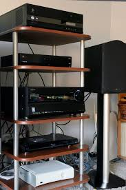 home theater component rack. home theater component rack n