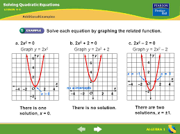 4 solve each equation by graphing