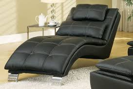 comfortable chairs for living room. Brilliant Room Black Leather Modern Chaise Lounge For The Living Room To Comfortable Chairs For Living Room Home Stratosphere