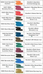 Noodler S Ink Properties Chart I Want Them All Current Noodlers Ink Colors Noodlers