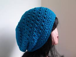 Free Slouchy Hat Crochet Pattern