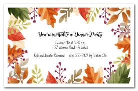 Fall Party Invitations Fall Party Invitations In Addition To