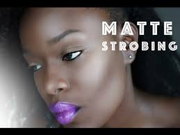 semi matte strobing for textured oily skin how to strobe you