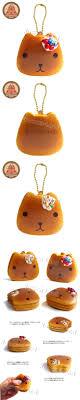 Kapibarasan Cafe Pancake Mascot Squishy Cell
