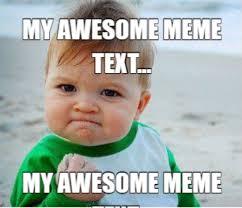 meme maker funny baby meme