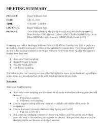 Meeting Recap Template Meeting Summary Report Overview Template Writinginc Co