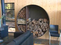 13 Indoor Firewood Storage Ideas