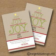 Diy Christmas Cards Christmas Card Diy Printable Joy Joy Joy Christian