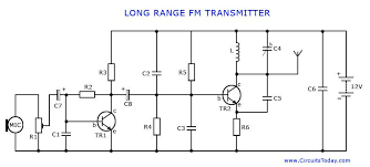 long range fm transmitter Wiring Schematic Diagram 200m Fm Transmitter Simple Circuit circuit diagram for long range fm transmitter
