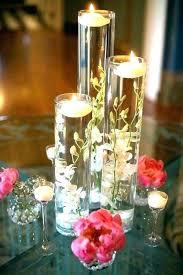 glass vase centerpiece ideas decoration for wedding cylinder glass vase centerpiece ideas big