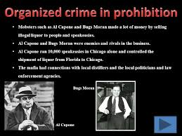 Image result for Prohibition effectively moved the alcohol business into the hands of organized crime