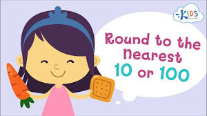 <b>Round Up</b> And Down To The Nearest 10 Or 100   <b>Math</b>   Grade 3 ...