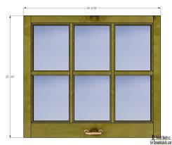 Panes For Windows Remodelaholic Build It 6 Pane Decorative Window