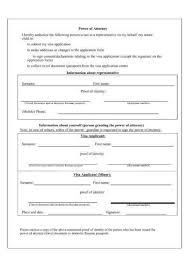 9 Power Of Attorney Authorization Letter Examples Examples