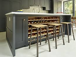 island with wine rack. Unique Rack Battersea Kitchen  Luxury Fitted Kitchens In SW London Throughout Island With Wine Rack N