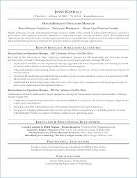 Sample Resume Of Hr Executive Ceciliaekici Com