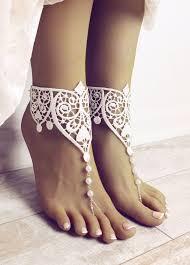Eden Barefoot Sandals   Wedding shoes lace, Destination wedding ...
