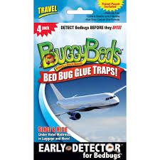 Travel Pack Bed Bug Glue Trap 4 Pack