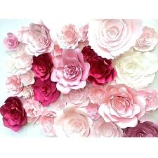 wall decor flowers large paper flower wall large paper flower backdrop by wall decor flowers umbra wall decor flowers