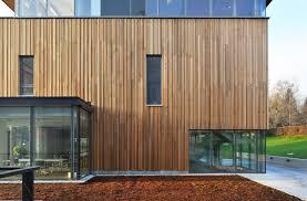 Wooden faade - Cedar