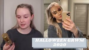 VLOG GRWM Halloween 2020 | Abby Bly - YouTube
